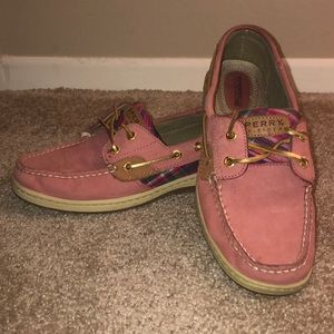 Women's Pink Sperrys